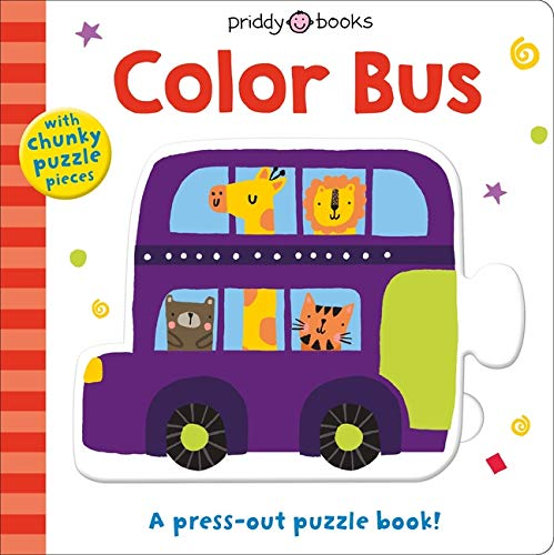 Color Bus: A Press-Out Puzzle Book