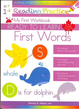 My First Words (Ready to Learn, Canadian Curriculum Series)