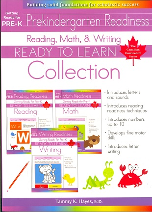 Getting Ready for Pre-K Collection (Ready to Learn, Canadian Curriculum Series)