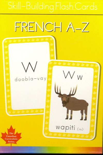 Fench A-Z Skill Building Flash Cards (Canadian Curriculum Series)