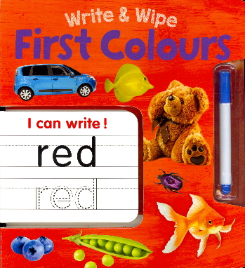 First Colours (Write & Wipe)