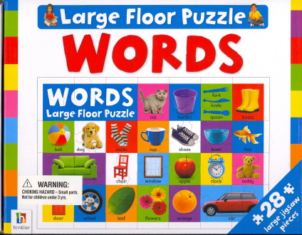 Words (Large Floor Puzzle)