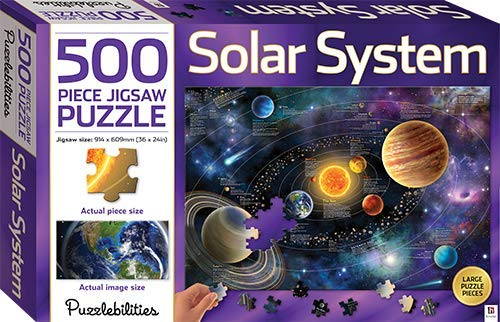 Solar System: 500 Piece Jigsaw Puzzle (Puzzlebilities)