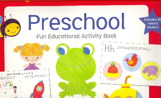 Preschool: Fun Educatiional Activity Book (Little Genius)