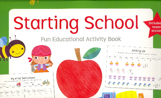 Starting School: Fun Educational Activity Book (Little Genius)