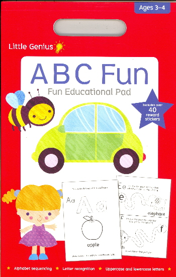 ABC Fun Educational Pad (Little Genius, Ages 3-4)