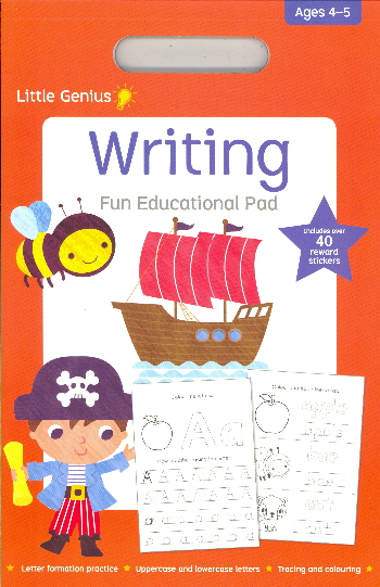 Writing Fun Educational Pad (Little Genius, Ages 4-5)