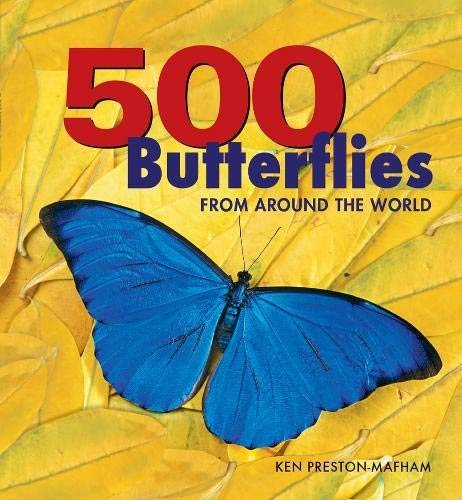 500 Butterflies: From Around the World