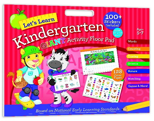 Let's Learn Kindergarten Giant Activity Floor Pad