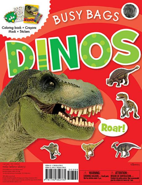 Dinosaurs Coloring Book (Busy Bags)