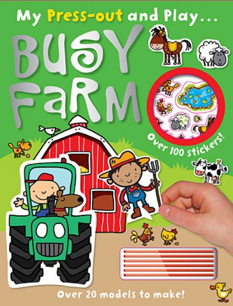Busy Farm ( My Press-out and Play...)