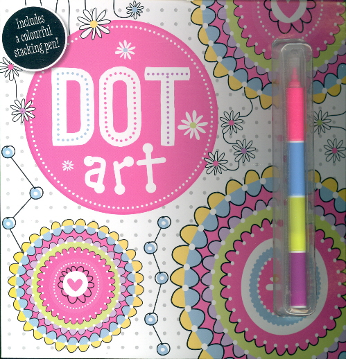 Dot Art (Includes a Colourful Stacking Pen!)