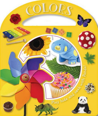 Colors: Find Panda While You Explore Different Colors! (Busy Windows)