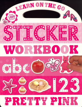 Sticker Workbook: Pretty Pink (Learn on the Go)