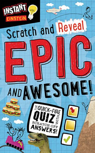 Scratch and Reveal Epic and Awesome (Instant Einstein)