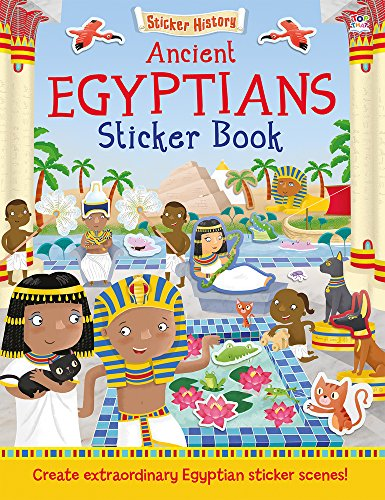 Ancient Egyptians Sticker Book (Sticker History)
