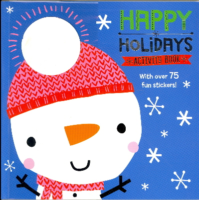 Happy Holidays Activity Book