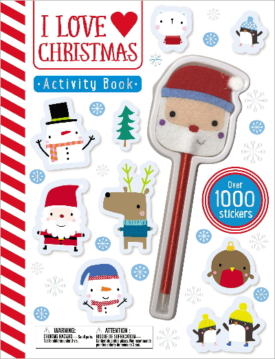 I Love Christmas: Activity Books