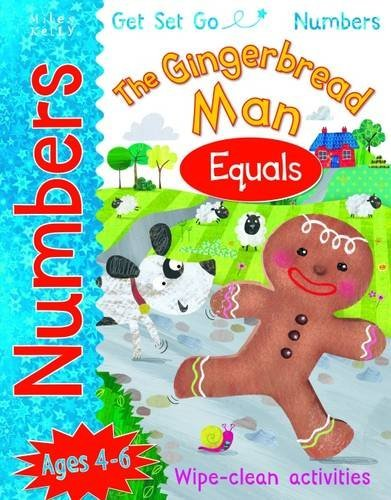 The Gingerbread Man: Equals (Get Set Go Numbers)