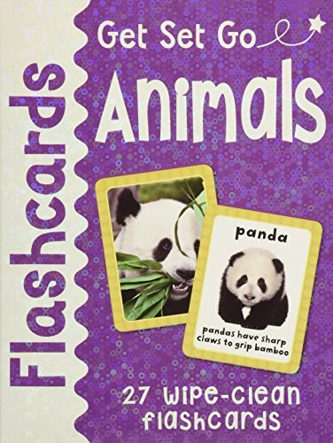 Get Set Go: Flashcards Animals