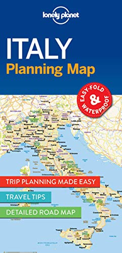 Italy Planning Map (Lonely Planet)