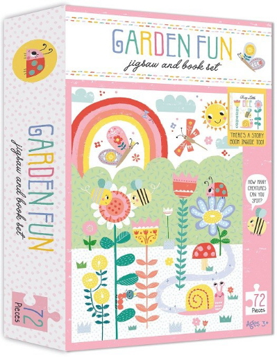 Garden Fun Jigsaw and Book Set