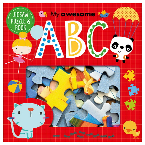 My Awesome ABC Jigsaw Puzzle & Book