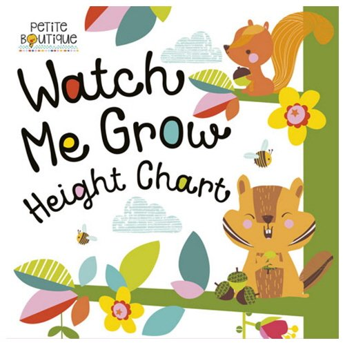 Watch Me Grow Height Chart (Petite Boutique)