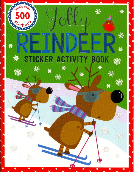 Jolly Reindeer Sticker Activity Book