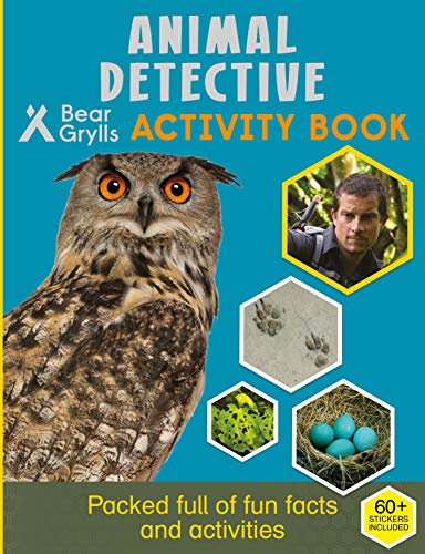 Animal Detective: Activity Book (Bear Grylls Activity)