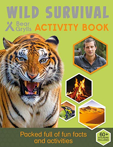 Wild Survival Activity Book