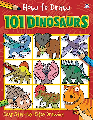 How to Draw 101 Dinosaurs (How to Draw)