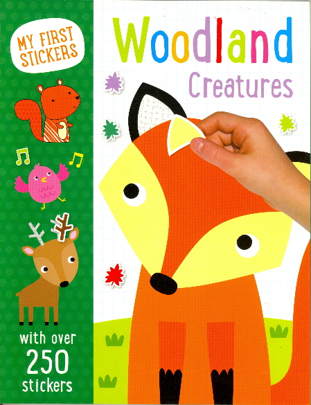 Woodland Creatures (My First Stickers)