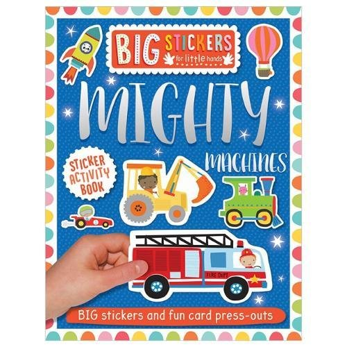 Mighty Machines Sticker Activity Book (Big Sticker for Little Hands)