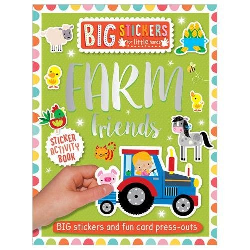 Farm Friends Sticker Activity Book (Big Stickers for Little Hands)