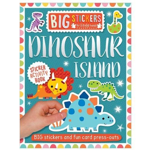 Dinosaur Island Sticker Activity Book (Big Stickers for Little Hands)