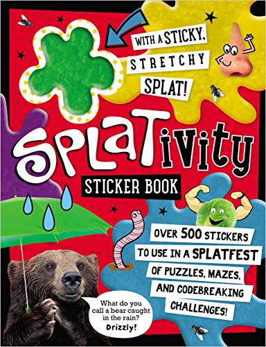 Splativity Sticker Book