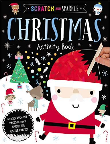 Christmas Activity Book (Scratch and Sparkle)