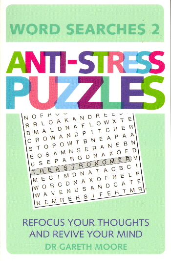 Anti-Stress Puzzles (Word Search 2)