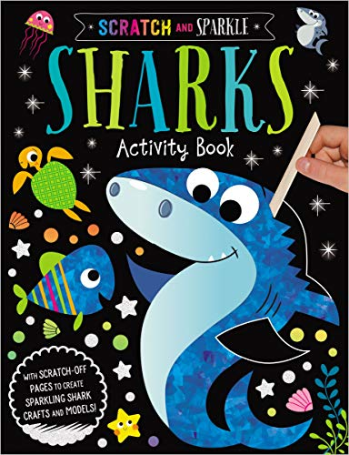 Sharks Activity Book (Scratch and Sparkle)