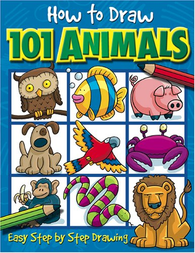 How To Draw 101 Animals (How to Draw)