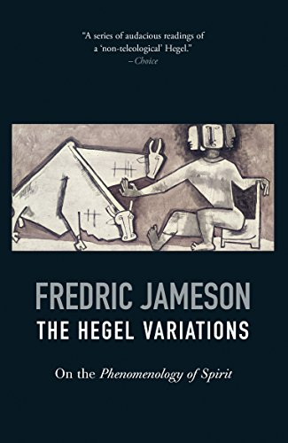 The Hegel Variations: On the Phenomenology of Spirit
