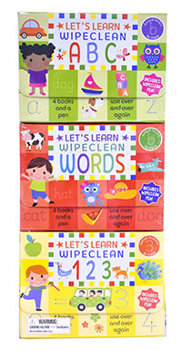 Let's Learn, Wipe Clean (ABC/Words/123)