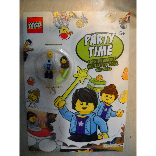 Party Time: Creative Doodle and Activity Book with Comics (LEGO)