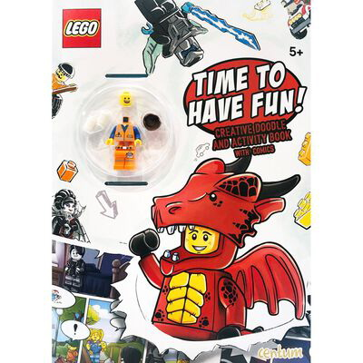 Time to Have Fun!: Creative Doodle and Activity Book with Comic (LEGO)