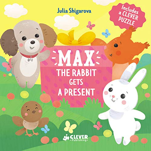 Max The Rabbit Gets A Present (Clever Puzzle Books)