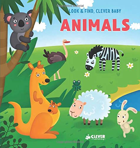 Animals (Look & Find, Clever Baby)