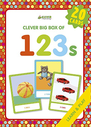 123s: Memory Flash Cards (Clever Big Box Of)