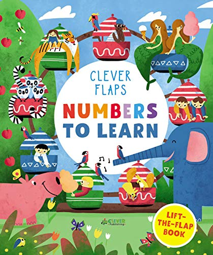 Numbers To Learn: Lift-the-Flap Book (Clever Flaps)
