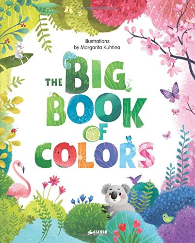 The Big Book of Colors (Clever Big Books)